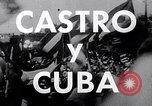 Image of Fidel Castro and violent revolution in Cuba Cuba, 1953, second 9 stock footage video 65675034272