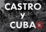 Image of Fidel Castro and violent revolution in Cuba Cuba, 1953, second 12 stock footage video 65675034272