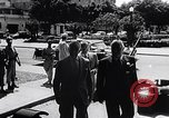 Image of Cuban President Fulgenci Batista greets visiting officials Cuba, 1957, second 6 stock footage video 65675034275