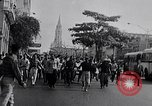 Image of Cubans celebrate takeover by Fidel Castro revolutionaries Havana Cuba, 1959, second 4 stock footage video 65675034277