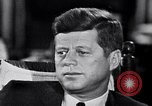 Image of John F Kennedy Washington DC USA, 1962, second 2 stock footage video 65675034292