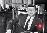 Image of John F Kennedy Washington DC USA, 1962, second 2 stock footage video 65675034295