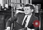 Image of John F Kennedy Washington DC USA, 1962, second 3 stock footage video 65675034295