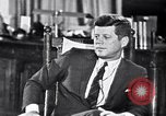 Image of John F Kennedy Washington DC USA, 1962, second 4 stock footage video 65675034295