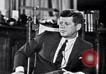 Image of John F Kennedy Washington DC USA, 1962, second 8 stock footage video 65675034295
