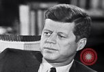 Image of John F Kennedy Washington DC USA, 1962, second 1 stock footage video 65675034296