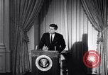 Image of President Kennedy speaking about Latin America Washington DC USA, 1961, second 12 stock footage video 65675034304