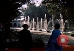 Image of Jacqueline Kennedy Shalimar Gardens, 1962, second 6 stock footage video 65675034324