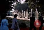Image of Jacqueline Kennedy Shalimar Gardens, 1962, second 8 stock footage video 65675034324