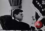 Image of John F Kennedy talking to military advisors Washington DC USA, 1963, second 12 stock footage video 65675034342