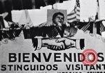 Image of John F Kennedy greeted by Latin American crowd Latin America, 1961, second 1 stock footage video 65675034344