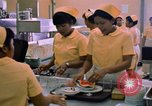 Image of USAF Modular Dining Hall at U-Tapao Royal Thai Navy Airfield Thailand, 1969, second 7 stock footage video 65675034376
