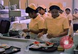 Image of USAF Modular Dining Hall at U-Tapao Royal Thai Navy Airfield Thailand, 1969, second 9 stock footage video 65675034376