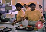 Image of USAF Modular Dining Hall at U-Tapao Royal Thai Navy Airfield Thailand, 1969, second 12 stock footage video 65675034376