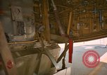 Image of refueling hose connected to centerpoint refueling valve U-Tapao Royal Thai Air Force Base Thailand, 1969, second 9 stock footage video 65675034397