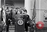 Image of Thomas Hudner Medal of Honor Washington DC White House, 1951, second 13 stock footage video 65675034415