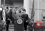 Image of Thomas Hudner Medal of Honor Washington DC White House, 1951, second 14 stock footage video 65675034415