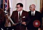 Image of Lyndon B Johnson Washington DC USA, 1969, second 2 stock footage video 65675034426