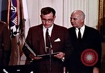 Image of Lyndon B Johnson Washington DC USA, 1969, second 3 stock footage video 65675034426