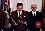 Image of Lyndon B Johnson Washington DC USA, 1969, second 4 stock footage video 65675034426