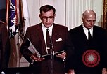 Image of Lyndon B Johnson Washington DC USA, 1969, second 6 stock footage video 65675034426