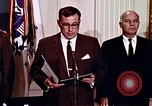 Image of Lyndon B Johnson Washington DC USA, 1969, second 7 stock footage video 65675034426
