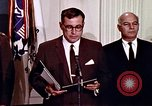 Image of Lyndon B Johnson Washington DC USA, 1969, second 9 stock footage video 65675034426