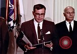 Image of Lyndon B Johnson Washington DC USA, 1969, second 10 stock footage video 65675034426