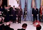 Image of Lyndon B Johnson Washington DC White House USA, 1969, second 1 stock footage video 65675034429