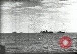 Image of German and Italian forces attack American ship convoy World War 2 North Africa, 1943, second 6 stock footage video 65675034452