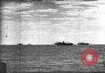 Image of German and Italian forces attack American ship convoy World War 2 North Africa, 1943, second 7 stock footage video 65675034452