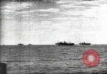 Image of German and Italian forces attack American ship convoy World War 2 North Africa, 1943, second 8 stock footage video 65675034452