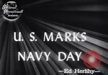 Image of Navy Day United States USA, 1947, second 4 stock footage video 65675034464