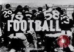 Image of American Football match Nashville Tennessee USA, 1947, second 2 stock footage video 65675034468