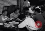 Image of registering for the new draft New York United States USA, 1948, second 8 stock footage video 65675034481