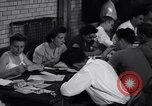 Image of registering for the new draft New York United States USA, 1948, second 9 stock footage video 65675034481