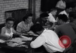 Image of registering for the new draft New York United States USA, 1948, second 10 stock footage video 65675034481