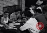 Image of registering for the new draft New York United States USA, 1948, second 11 stock footage video 65675034481