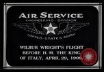 Image of Wilbur Wright Rome Italy, 1909, second 5 stock footage video 65675034491