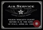 Image of Wilbur Wright Rome Italy, 1909, second 6 stock footage video 65675034491
