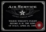 Image of Wilbur Wright Rome Italy, 1909, second 7 stock footage video 65675034491