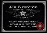 Image of Wilbur Wright Rome Italy, 1909, second 9 stock footage video 65675034491