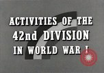 Image of US Army 42nd Division battles in World War I Baccarat France, 1918, second 9 stock footage video 65675034504