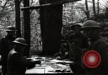 Image of 42nd Division encampment World War 1 Baccarat France, 1918, second 1 stock footage video 65675034505