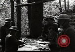 Image of 42nd Division encampment World War 1 Baccarat France, 1918, second 2 stock footage video 65675034505