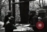 Image of 42nd Division encampment World War 1 Baccarat France, 1918, second 10 stock footage video 65675034505