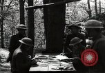 Image of 42nd Division encampment World War 1 Baccarat France, 1918, second 11 stock footage video 65675034505