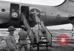 Image of C-54 aircraft Marshall Islands, 1946, second 5 stock footage video 65675034521