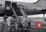 Image of C-54 aircraft Marshall Islands, 1946, second 6 stock footage video 65675034521