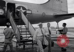 Image of C-54 aircraft Marshall Islands, 1946, second 8 stock footage video 65675034521